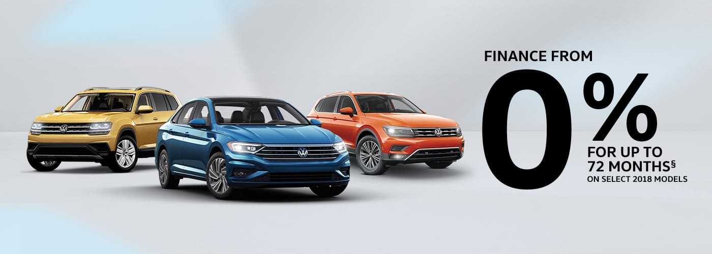 Finance From 0% for up to 72 months on select 2018 models